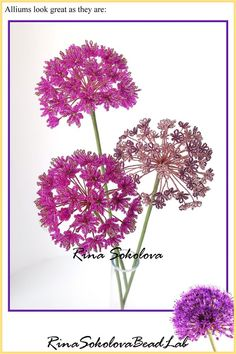 Home Page for designer Lauren Harpster's handmade French Beaded Flowers. Custom made french beaded flowers, wedding bouquets, and French Beaded Flower TutorialsFrench Beaded Globe Amaranth by Lauren Hapster This was a custom order that I received a f Beaded Flowers Patterns, French Beaded Flowers, Seed Bead Flowers, Wire Flowers, Bead Loom Patterns, Beaded Jewelry Patterns, Beading Patterns, Globe Amaranth, Beads And Wire