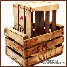 caja frutera rustica caja vintage original tpica caja rustica para decoracin antigua cistelleria