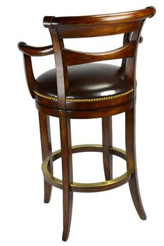 A very distinctive hand rubbed finish gives this stool a traditional and classy look Sold