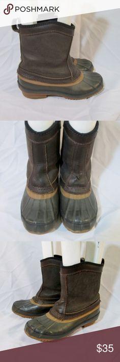 36550b11a G.H. BASS THERMOLITE Waterproof Rain Duck Boot Awesome pair of men / women  G.H. BASS &