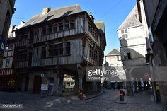 Stock Photo : #Dinan   Côte d'armor - brittany - France #dinan #cote #darmor #armor #bretagne #centre #ville #maison #colombage #traditionnel #