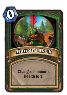 Control Hunter Deck Legend Guide − Hearthstone Players