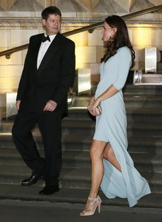 21 Oct 2014: The Duchess of Cambridge attended the Photographer of the Year Awards at the Natural History Museum in London