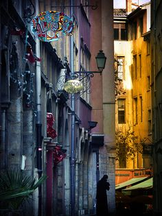 Side Street, Lyon, France. Who says you can't find Mexican food in France!