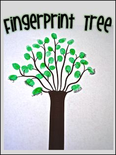 Fingerprint Tree - awesome classroom community building for the beginning of the year.  Can call it a Friendship Tree as well.