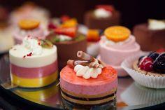 Fancy desserts.