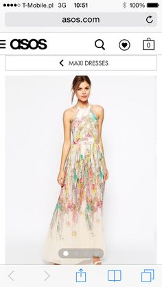 Maid of honor dress. Ted Baker <3