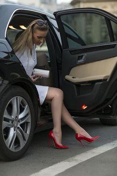 High Heels Nylons & Cars — High Heels and Wheels Beautiful Women Wearing High. Extreme High Heels, Platform High Heels, Black High Heels, High Heel Boots, Heeled Boots, Pumps Heels, Stiletto Heels, Stilettos, Nylons Heels