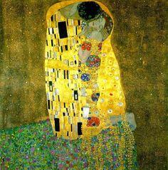 Las 20 pinturas más famosas de todos los tiempos - The Kiss de Gustav Klimt