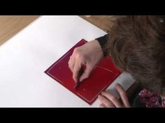 Tutorial: Printmaking with Inktense Blocks - YouTube
