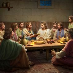Images Du Christ, Pictures Of Jesus Christ, Bible Images, Jesus Artwork, Jesus Christ Painting, Christ In Me, In Christ Alone, Christian Verses, Christian Devotions