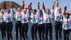 Great Britain's women's eight won their first Olympic medal, taking silver in the rowing behind the United States.  The crew of Katie Greves, Melanie Wilson, Frances Houghton, Polly Swann, Jessica Eddie, Olivia Carnegie-Brown, Karen Bennett and Zoe Lee held off Romania on the line.