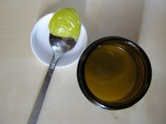 Homemade Vapor Rub - for colds. Place 1/4 c. olive oil in a small saucepan, add 1 Tbs grated beeswax and heat over medium-low heat until the beeswax dissolves, whisking regularly. Allow to cool until slightly warm, add 60 drops eucalyptus essential oil,15 drops peppermint ess. oil,15 drops rosemary ess. oil, 15 drops clary sage ess. oil and whisk thoroughly. Pour into a small, wide-mouth glass jar. Massage onto chest or onto upper lip as needed.