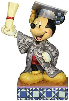 Enesco Disney Traditions by Jim Shore Graduation Mickey Figurine 675 IN *** Want to know more, click on the image.