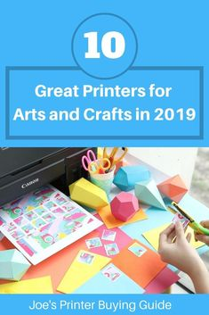 We've have a great list of the best printers for art prints in No matter what kind of arts and crafts you're into, we have a great printer recommendation for you! Photo Printer, Inkjet Printer, Laser Printer, Super Tank, Best Printers, Arts And Crafts, Art Prints, Art Impressions