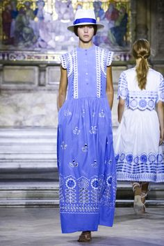 Temperley London Fashion Show Ready to Wear Collection Spring Summer 2016 in London