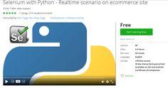 Selenium with Python - Realtime scenario on ecommerce site  http://hii.to/Ekreg940e  #selenium #python