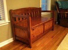 Storage Bench from the Kreg Owners' Community (kregjig.ning.com)