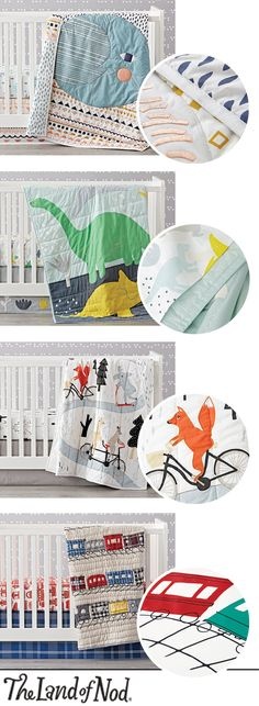 Refresh the nursery with our newest selection of dreamy, artist-designed baby bedding. With tons of comfy baby blankets, crib bedding sets and more, we have styles that'll keep your little one cozy as can be.