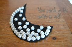 DIY- pearls collar « Born in 82 – Fashion and Creativity Blog