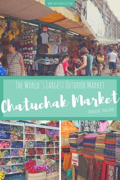 Bangkok's Chatuchak Market is a must-see in Thailand! This post lets you in on all the best food & shopping spots to help you make the most of your time at the world's largest outdoor market.
