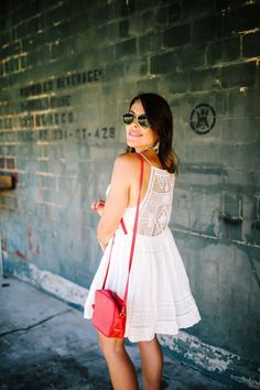 Summer Style Inspo via Glitter & Gingham / Free People Dress