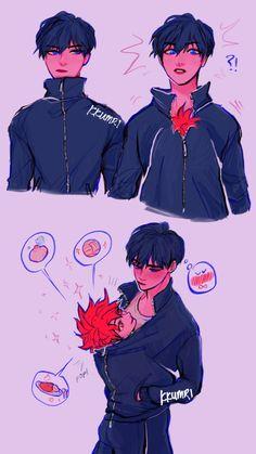 Picture memes by SilverWings: 1 comment - iFunny :) - kagehina, anime, yaoi - Haikyuu Manga, Haikyuu Kageyama, Haikyuu Funny, Haikyuu Fanart, Haikyuu Tumblr, Nishinoya, Oikawa, Anime Boys, Kagehina Cute