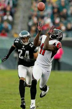 Julio Jones is one of the best Wide Outs in the NFL today simply because eh can catch the ball so well. He recives it and protects it like it is something sacred, he goes and gets that sacred ball because he wants it so bad. This is like the ritual of Eucharist where we physically receive the host, we make sure that we catch it and secure it.