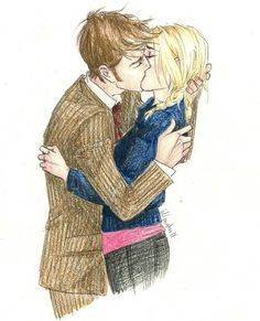 billie piper, david tennant, doctor who, rose tyler, tenth