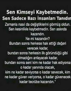 Pes ettim ama Yine de  ben KAZANDIM!!✔ Weird Dreams, Meaningful Words, Loneliness, Note To Self, Great Quotes, Cool Words, Karma, Favorite Quotes, Philosophy