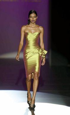 Rosamaria G Frangini  Gold Desire   Hannibal Laguna SS 2013