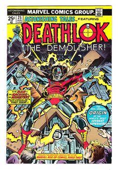Astonishing Tales # 25  1st Appearance Deathlok the Demolisher