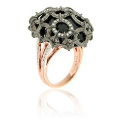 #zorabcreation #ring #gothchic #punkchic #style #fashion #jewelry #black #gems