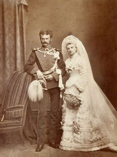 Duke Maximilian Emmanuele of Bavaria and Pss Amalie of Saxe Coburg and Gotha