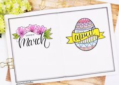 "398 Likes, 7 Comments - Miya (@mimitsu.de) on Instagram: ""Goodbye March - hello April . . . . . . . . . . . . . . . . . . . #bulletjournal #planner…"""