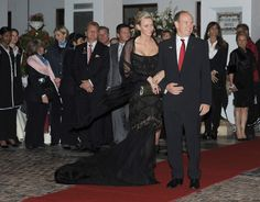 Princess Charlene and Prince Albert of Monaco Host Party in Durban