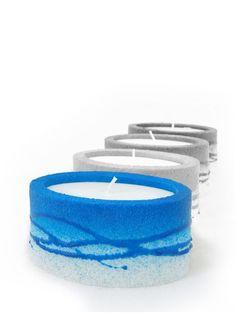 Elipsa blau Zell Am See, Toothbrush Holder, Candles, Blue