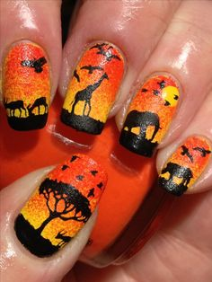 #african_fashion #african_nails #african_nail_art #african_nail_style