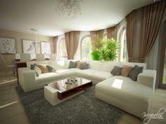 Luminosas y acogedoras Salas de Estar modernas para la primavera   Decorar y Más