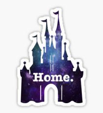 Castle Galaxy Sticker