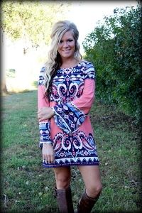 Pretty in Paisley Dress