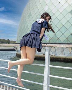 Women With Beautiful Legs, Beautiful Japanese Girl, Beautiful Asian Girls, Cute Asian Girls, Cute Girls, American Bikini, Figure Poses, Japan Girl, Cute Girl Photo