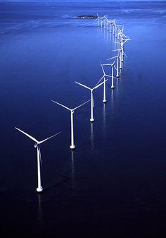 wind power on the sea