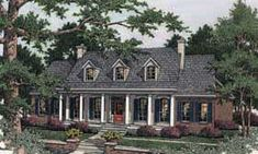 Cape cod cottage with porches and a breezeway to detached for Southern living cape cod house plans