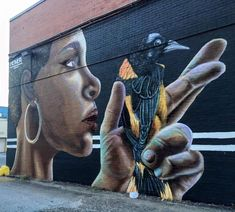 The wave of street art that has hit Baltimore arrived a little differently than many other places like New York or Los Angeles.