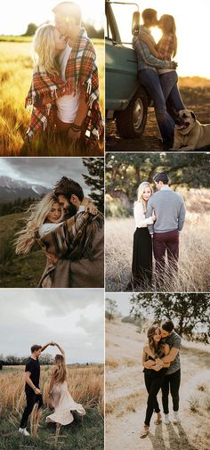 30 Sweet Fall Engagement Photo Ideas - Oh Best Day Ever - sweet fall wedding engagement photo poses - Rustic Engagement Photos, Engagement Photo Outfits, Fall Engagement, Engagement Pictures, Engagement Shots, Country Engagement, Engagement Ideas, Photo Poses For Couples, Poses Photo