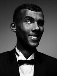 Portret - Portfolio - Stephan Vanfleteren: Stromae en Stephan: Formidable!