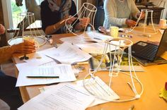 Traditional lampshade making course with Cocoon Home