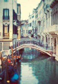 Venice,  Italy. My dream is to visit and wonder aimlessly for hours!