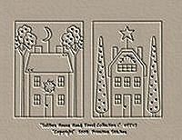 Saltbox House Hand Towel Collection 1